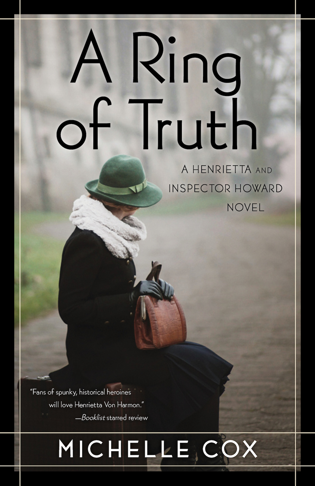 a ring of truth michelle cox author mystery historical fiction book cover