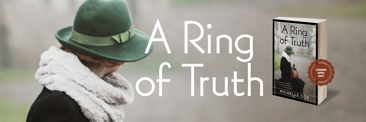 a ring of truth michelle cox author mystery historical fiction book image
